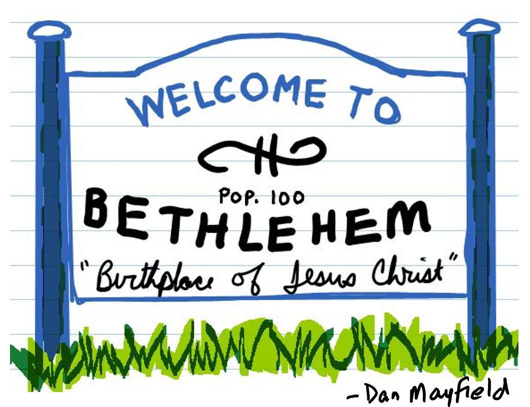 2016 bethlehem sign