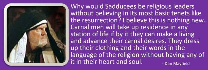 faithless religious leaders