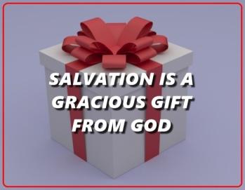 SALVATION GRACIOUS GIFT ROMANS 11